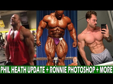 Phil Heath Physique Update + Ronnie Coleman Posts Photoshopped Photo + CBum Physique Update + More !