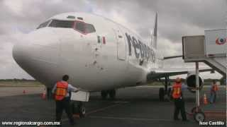 Regional Cargo - Boeing 737-200 (2T4C/Adv) Arrival-Walk Around-PushBack-Engines StartUp-TakeOff