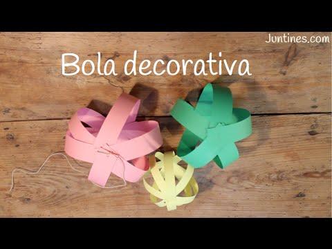 Tutorial para aprender a hacer farolillos decorativos para una fiesta infantil