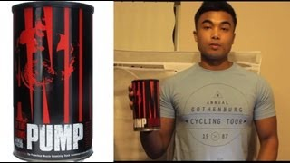 Supplement review : Universal Nutrition's Animal Pump pre workout