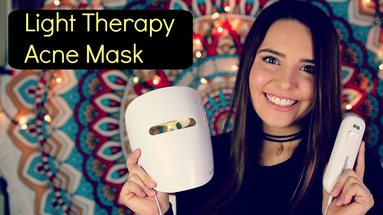 light therapy acne mask reviews