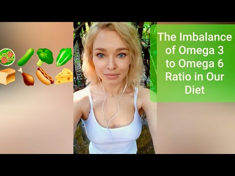 The Omega 3 To Omega 6 Ratio Imbalance In Our Diet And Its Consequences.
