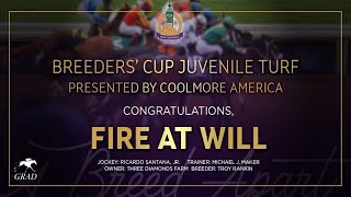 Vidéo de la course PMU BREEDERS' CUP JUVENILE TURF PRESENTED BY COOLMORE AMERICA
