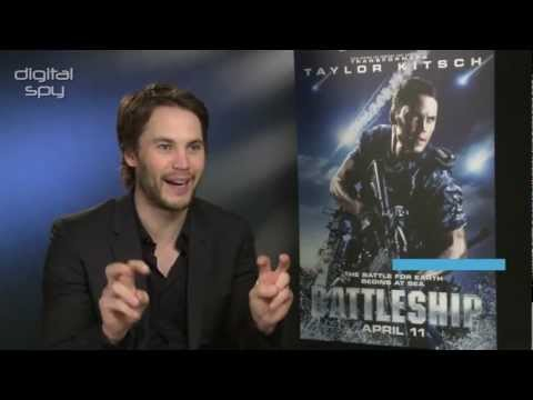 Taylor Kitsch And Director Peter Berg Chat Rihanna And Battleship