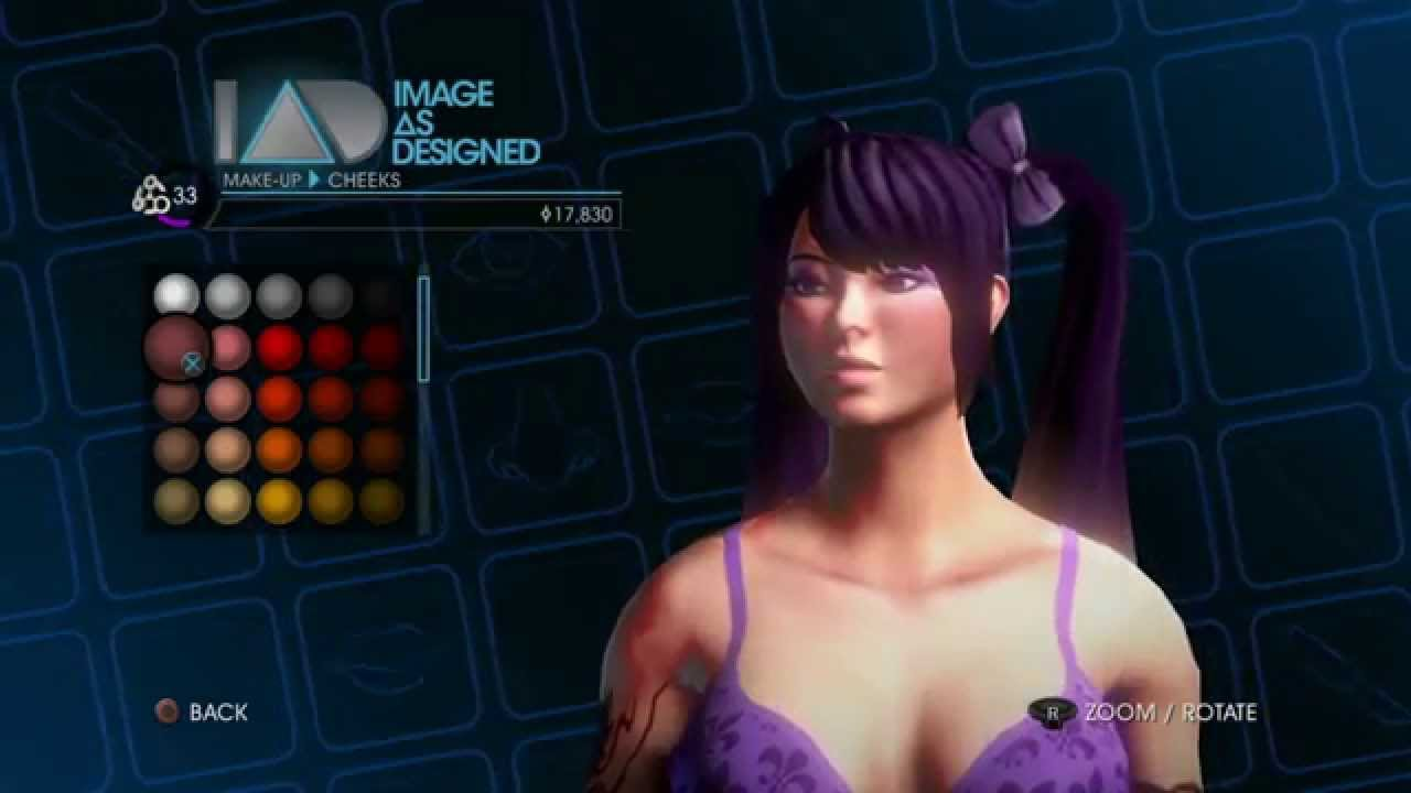 Saints Row 4 How To Make A Cute Asisn Female Face Youtube