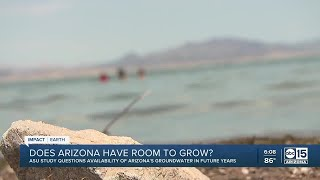 Arizona's continuing population growth puts pressure on water supply