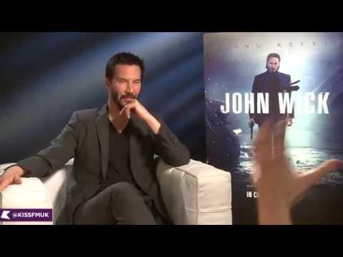 Keanu Reeves talks John Wick  KISS FM UK