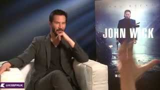 Keanu Reeves talks John Wick   KISS FM (UK)
