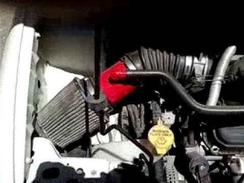 2010 Dodge Grand Caravan >> Dodge Caravan Custom Cold Air Intake - YouTube