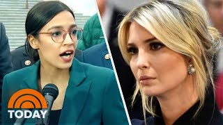 Alexandria Ocasio-Cortez And Ivanka Trump\'s Twitter Feud About Green New Deal | TODAY