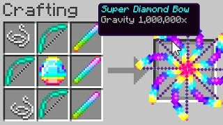 minecraft, but bows control gravity