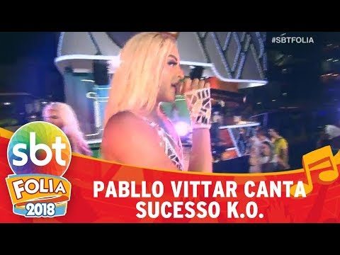 Pabllo Vittar canta sucesso K.O. | SBT Folia 2018