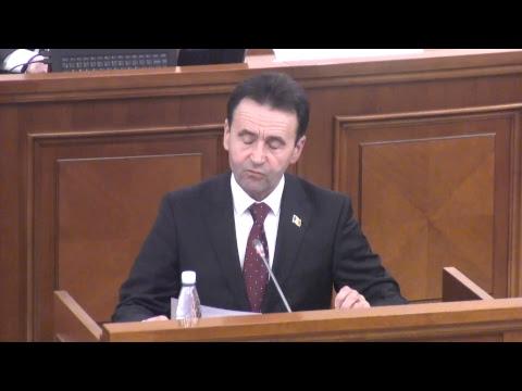 Şedinţa Parlamentului Republicii Moldova 01.03.2018