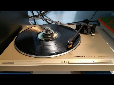 Pioneer PL-7 Turntable Refurb Project