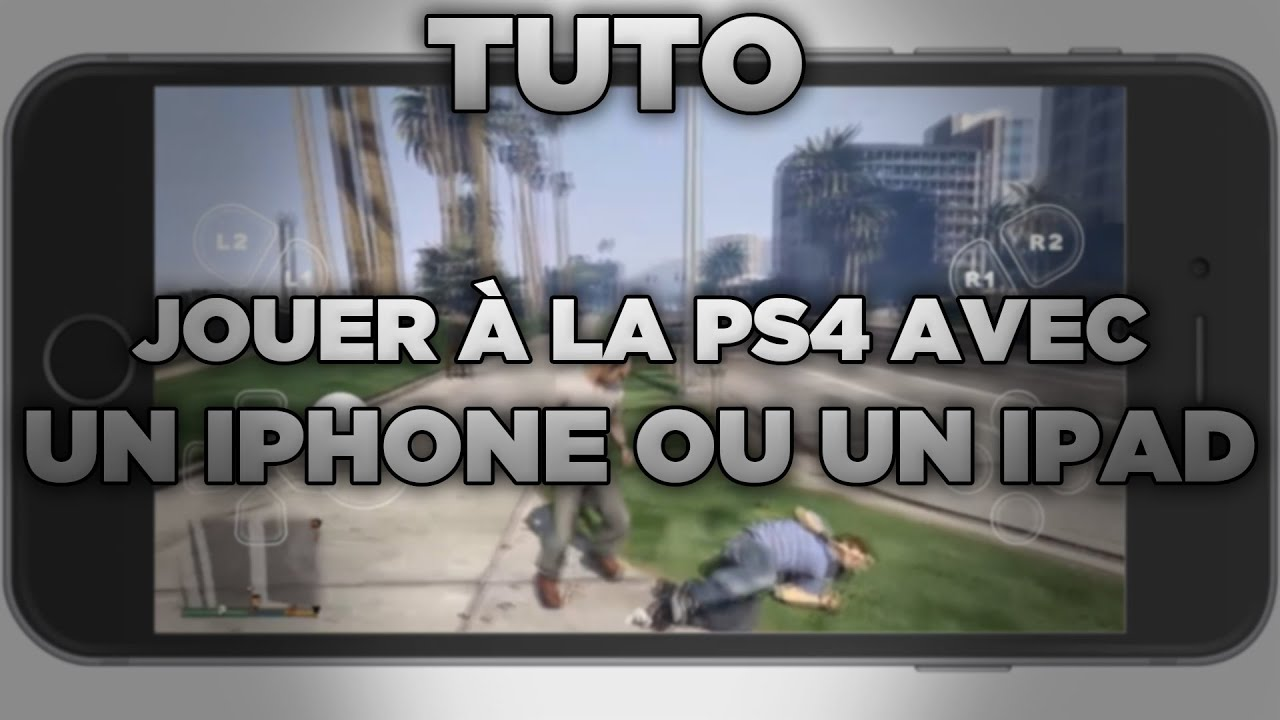 a07b98e16 TUTO : JOUER À LA PS4 AVEC UN IPHONE OU UN IPAD ! - YouTube