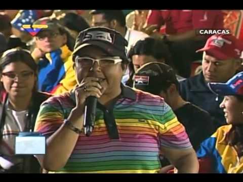 En Contacto con Maduro #51, parte 14/17, Consejo Presidencial Sexodiversidad, habla Ingrid Barón