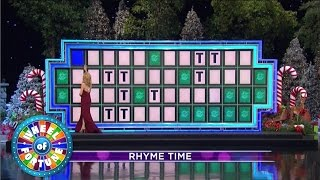 Wheel of Fortune - There Are HOW Many Ts?!? (Dec. 23, 2016)