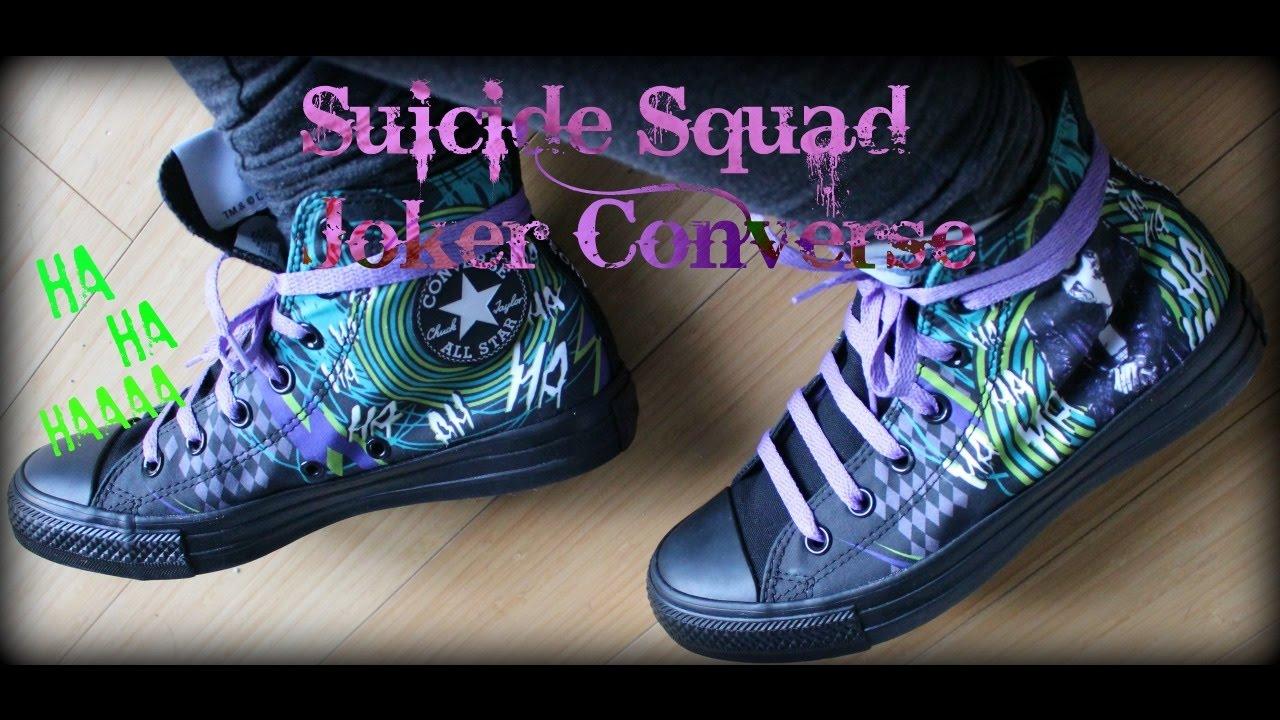 34564903546975 Suicide Squad Joker Converse
