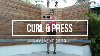 Curl & Press // FIT Happy Hour Movement Demo