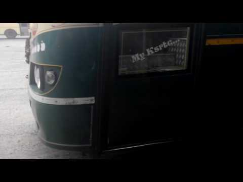 KSRTC SUPER EXPRESS BUS BRAKE TESTING AT ADOOR