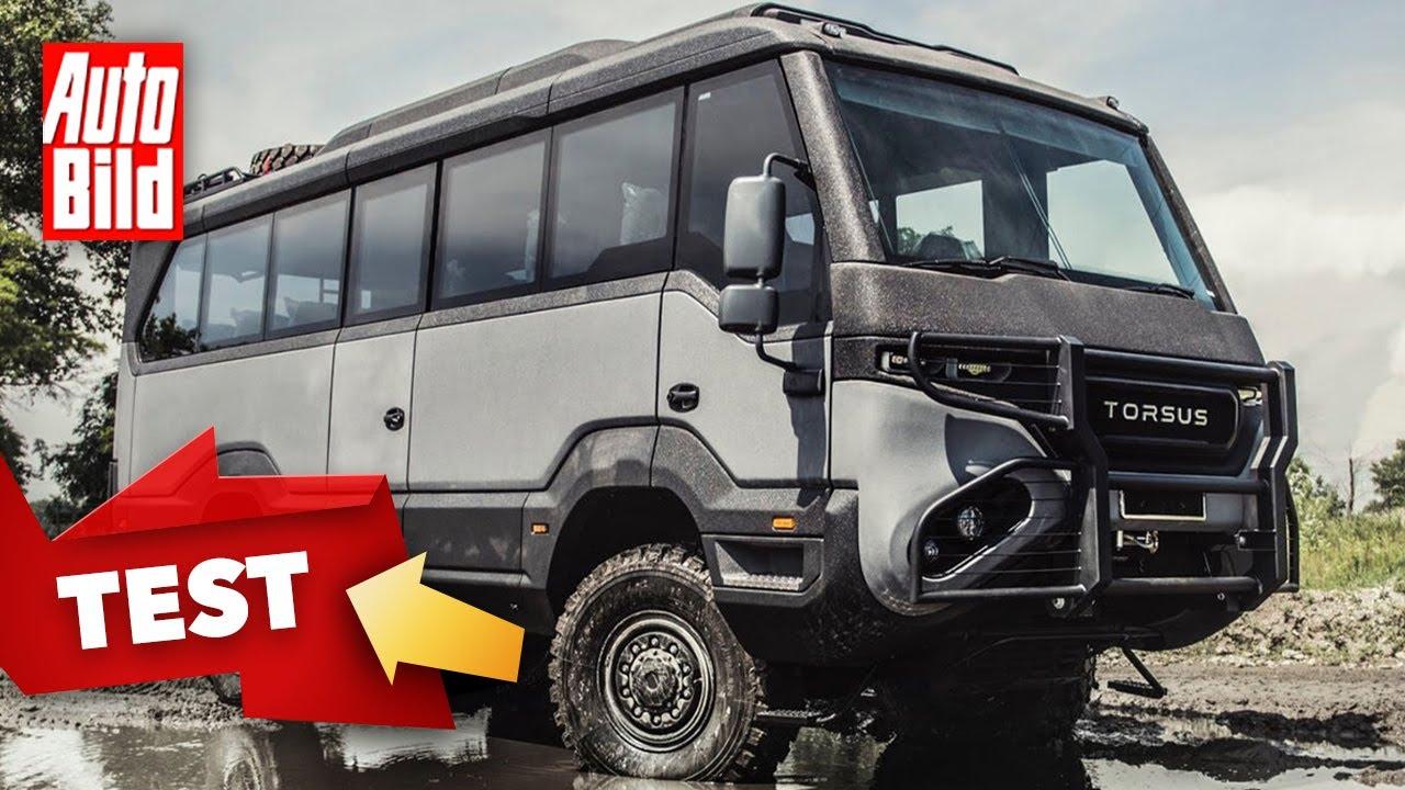 Torsus Praetorian & Terrastorm (2021)   Zwei Busse für schweres Gelände   Test mit Thomas Geiger