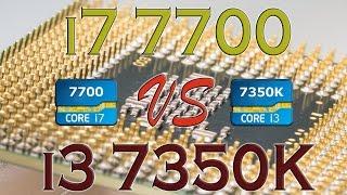 i7 7700 vs i3 7350k benchmarks gaming tests review and comparison kaby lake vs kaby lake