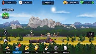 TrainStation Game On Rails 🚝 Walkthrough Part 1 Android Gameplay screenshot 1