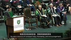 Bob Xu Convocation Address at the University of Saskatchewan