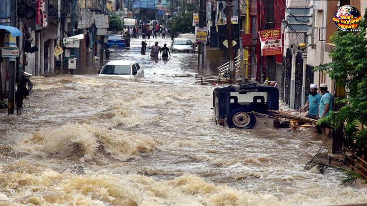 Alam Murka!! Banjir Dahsyat Hantam Kota, Puluhan Mobil Hanyut // Fenomena Alam Terdahsyat 2020
