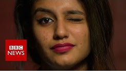 Priya Varrier: The actress whose wink stopped India - BBC News
