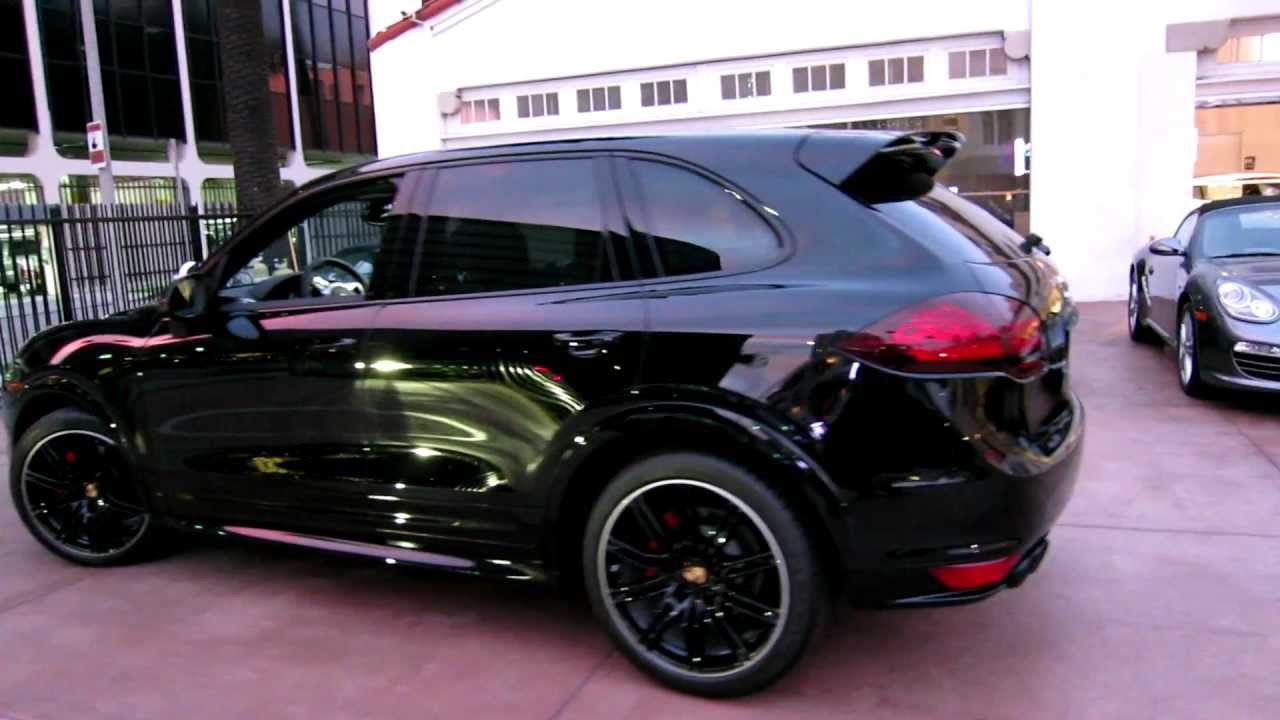 New 2013 Porsche Cayenne Gts Black Now Available For Sale At Beverly Hills Porsche Youtube