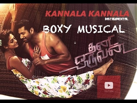 Thani Oruvan - Kannala Kannala Lyric | Jayam Ravi, Nayanthara | Andre nel Boxy