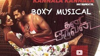 Thani Oruvan - Kannala Kannala Lyric   Jayam Ravi, Nayanthara   Andre nel Boxy