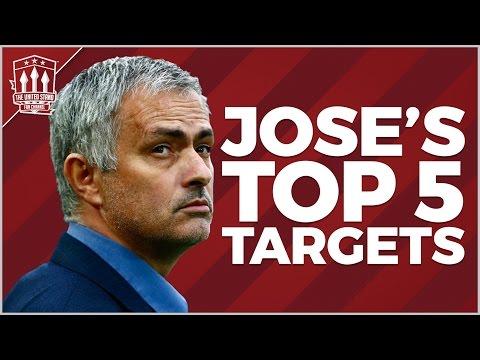 Jose Mourinho's top 5 Man Utd Transfers | Mourinho Special