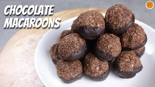 How To Make Chocolate Coconut Macaroons | Chocoroons Recipe  Chocolate Macaroons | Mortar and Pastry