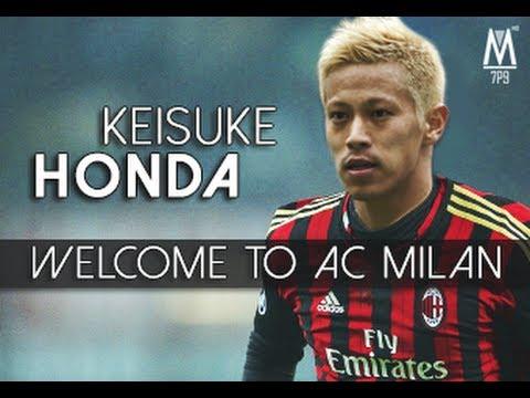 Keisuke Honda - Welcome to AC Milan