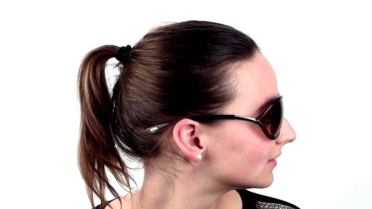 4b82a1546d3 Tom Ford FT0008 JENNIFER 38F Sunglasses - VisionDirect Reviews - YouTube