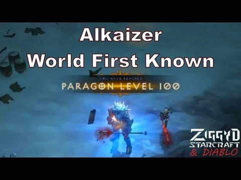 Alkaizer World First Paragon Level 100 (News) and Farming Run Explanation