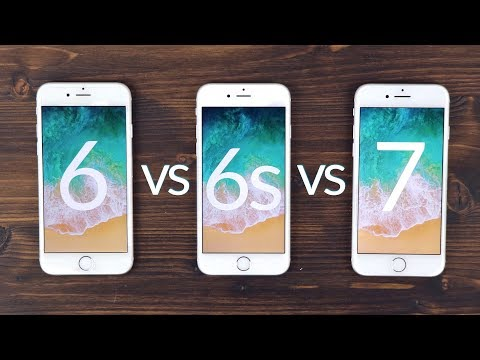 iphone 5s vs iphone 7 performance