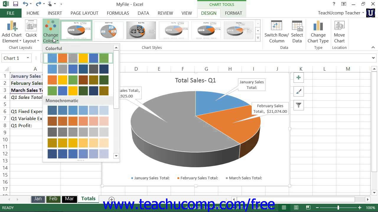 Excel 2013 tutorial changing color schemes microsoft training excel 2013 tutorial changing color schemes microsoft training lesson 2610 nvjuhfo Image collections