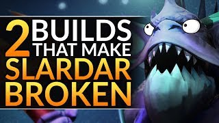Why Slardar is INSANE in 7.24 - The 2 Builds PROS ABUSE to CARRY HARD - Dota 2 Offlane & Carry Guide