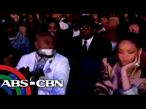 Rihanna duct tapes Floyd's mouth