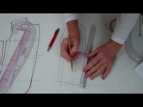 Jacket Sakko Pattern Making Part 3 Sleeve - Lilo Siegel