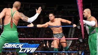 Dolph Ziggler, Heath Slater & Rhyno vs. The Miz & The Spirit Squad: SmackDown LIVE, 18. Oktober 2016