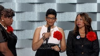 Mothers take stage at DNC to Black Lives Matter...