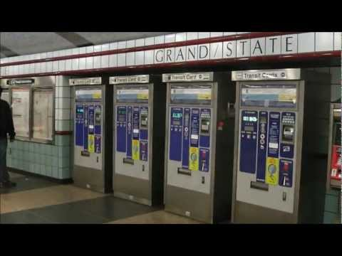 The Renovated Grand/State Station, CTA Red Line Subway
