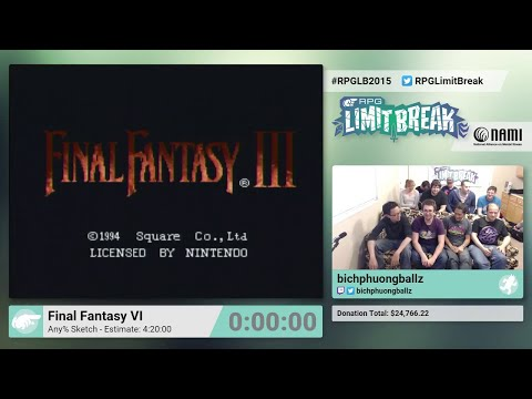 Final tasy VI w Sketch Glitch by bichphuongballz RPG Limit Break 2015 Part 28