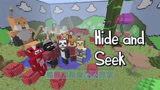 Minecraft Xbox - Hide and Seek - Magical Garden