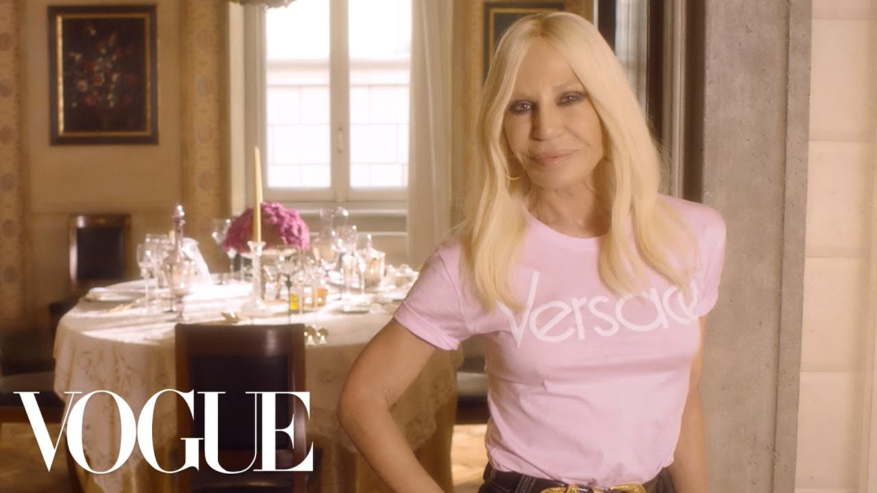 Donatella Versace Answers Vogue's 73 Questions in Late Brother Gianni's ...