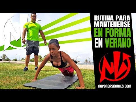 (Vídeo) Rutina para mantenerse en forma este verano con la Dj, Naya Claure